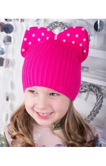 """Детская шапка """"Бантик"""""""
