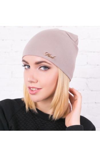"""Женская шапка """"Трикотаж"""""""