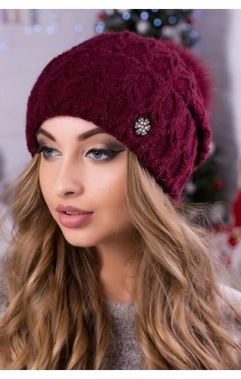 """Женская шапка """"Джина"""""""