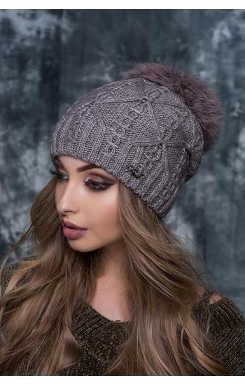 "Женская шапка ""Ария"""