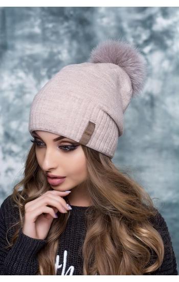 """Женская шапка """"Брэнда - 2"""""""