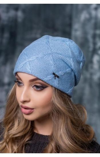 """Женская шапка """"Флай"""" (lurex)"""