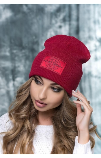 """Женская шапка """"Канзас"""""""
