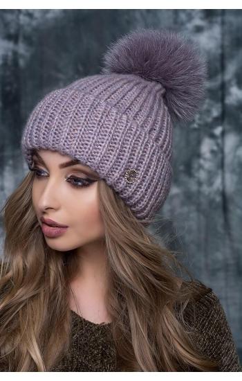 """Женская шапка """"Мария"""""""
