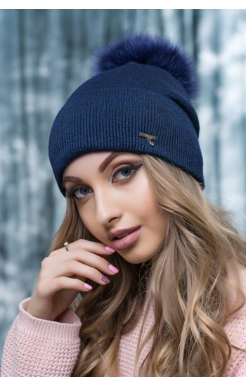 "Женская шапка ""Пэрис"" (lurex)"