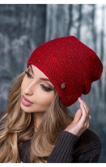 """Женская шапка """"Рэйчел"""" (пайетка)"""