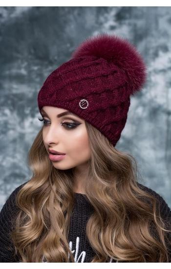 """Женская шапка """"Снежана"""" (lurex)"""