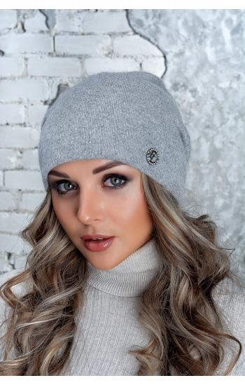 """Женская шапка """"Афродита"""" (angora)"""