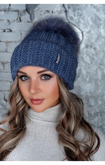 """Женская шапка """"Монако"""""""