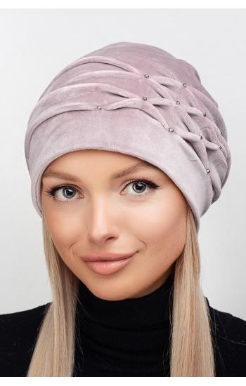"""Женская шапка """"Аметист"""""""