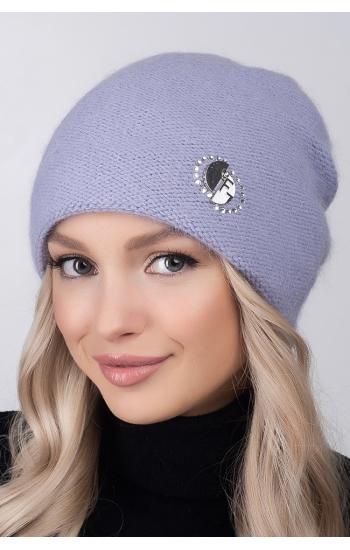 """Женская шапка """"Бланка"""" (angora)"""