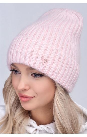 """Женская шапка """"Каролина"""" (angora)"""