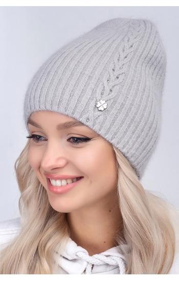 """Женская шапка """"Шакира""""  (angora)"""