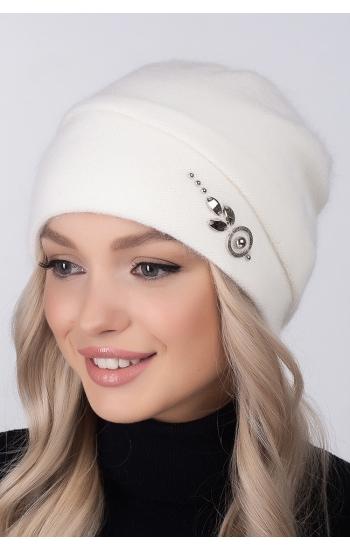 "Женская шапка ""Венера"" (angora)"