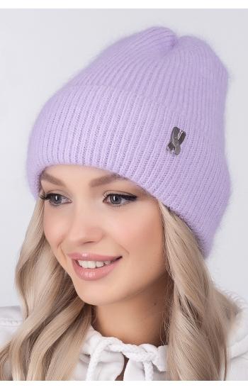 """Женская шапка """"Злата"""" (angora)"""