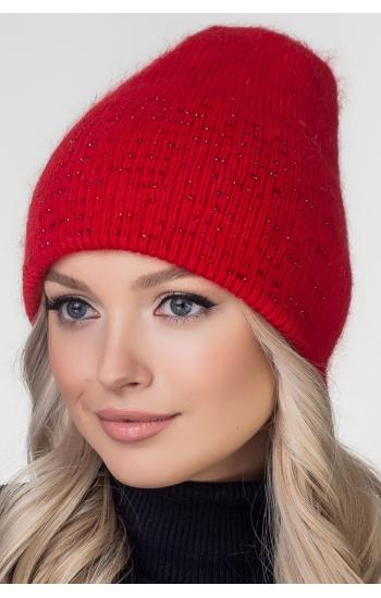 """Женская шапка """"Джема"""" (angora)"""