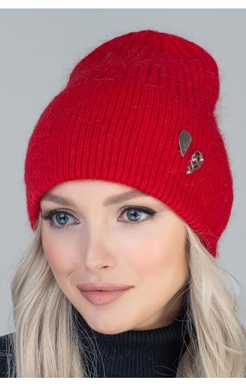"Женская шапка ""Мариса"" (angora)"
