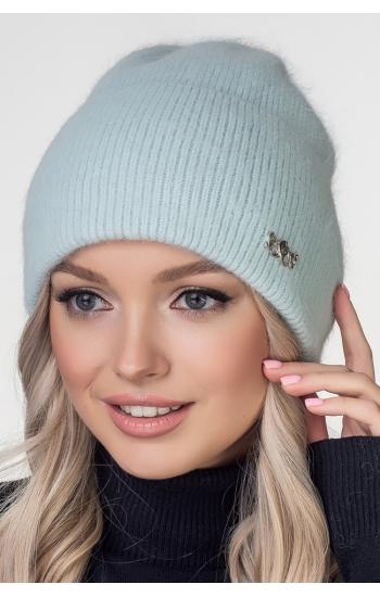 """Женская шапка """"Шадо"""" (angora)"""