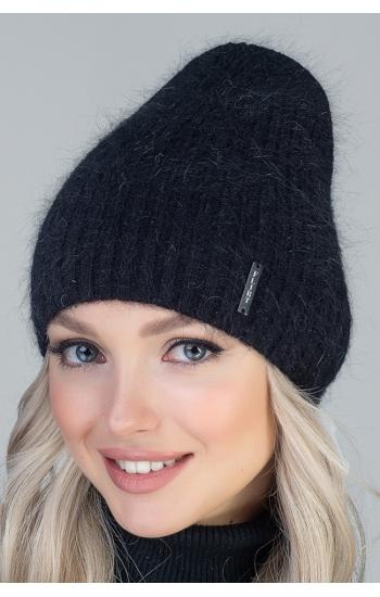"""Женская шапка """"Вена"""" (angora)"""